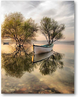 Boat Reflection 01