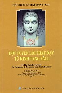 Hợp Tuyển Lời Phật Dạy bia truoc