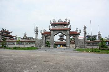 Chùa Cát Hộ xã Đông Thọ TP Thái Bình 2