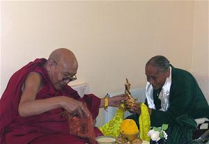 Jetsün Jampa Chökyi và Kyabje Trulshik Rinpoche