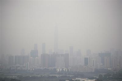 H.8 Ô nhiễm tại thành phố Shenzhen (Thẩm Quyến)