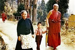 Jetsün Jampa Chökyi và Kyabje Kangyur Rinpoche