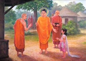 Đức Phật giáo huấn La-hầu-la