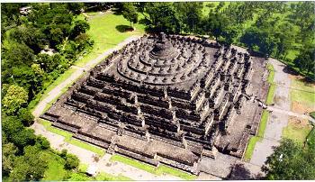 Borobudur Aerial