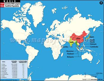 world-top-ten-countries-with-largest-buddhist-populations-map
