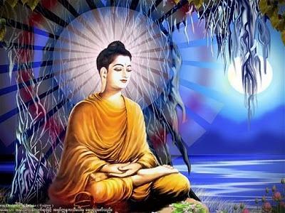 Đức Phật thành đạo dưới cội Bồ Đề