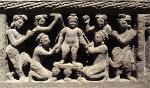 the-buddha-as-a-child-taking-a-bath-gandhara-2nd-century-ce