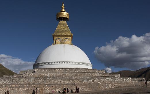 Đại Bảo tháp Hòa Bình tại Golok (Tây Tạng)