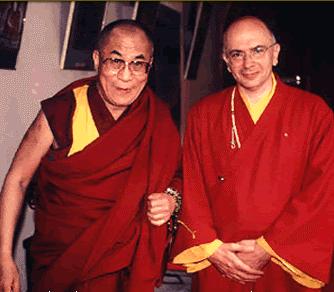 Lama Denys Rinpoche va dalai lama