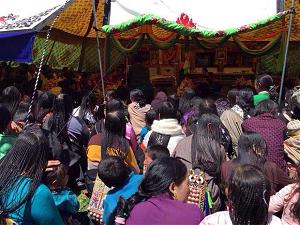 Tibetans celebrate the 80th anniversary of the Dalai Lama