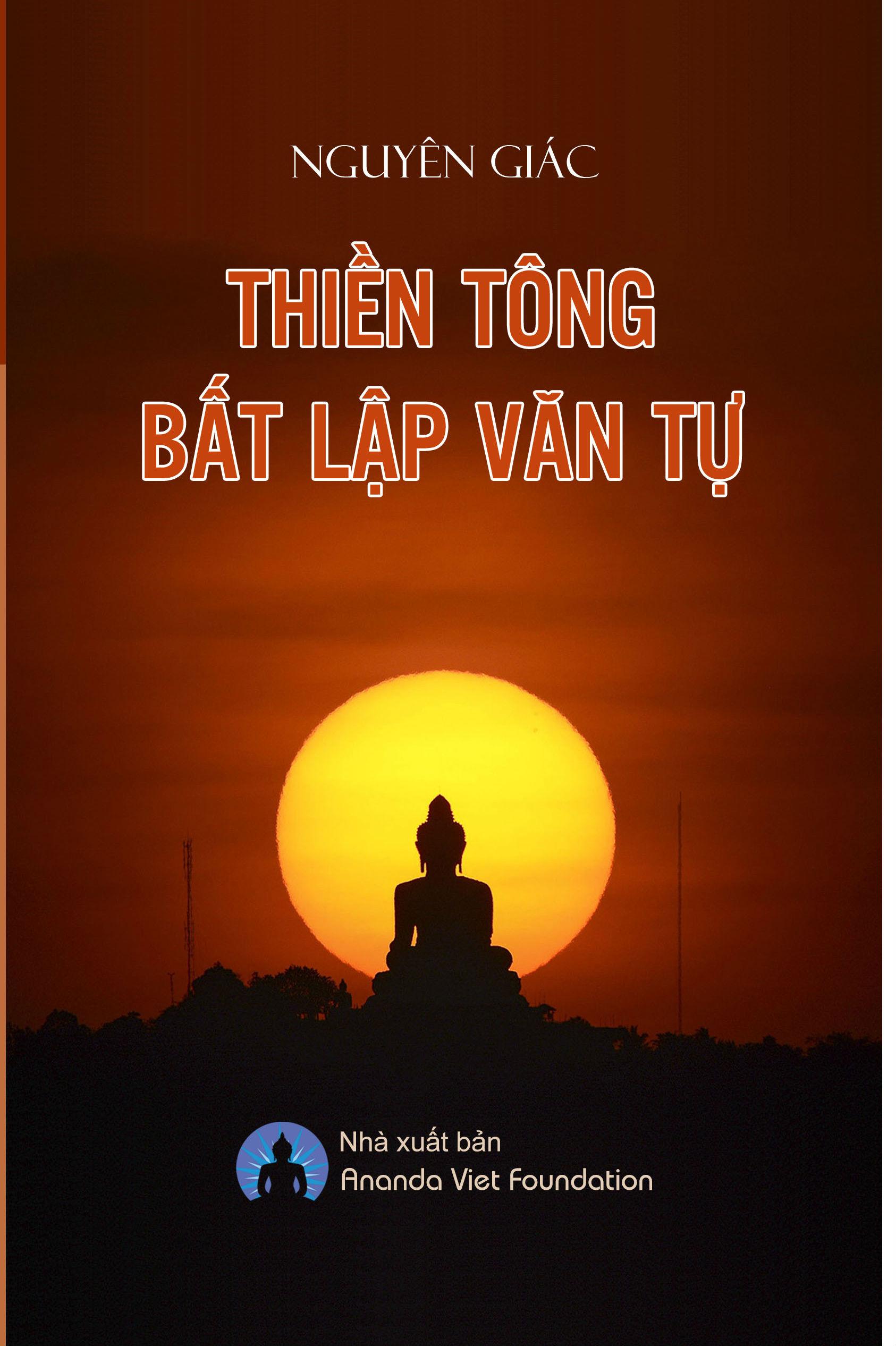 Image result for Bìa Thiền Tông Bất Lập Văn Tự của Nguyên Giác