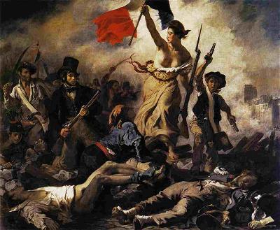 H.1 Sự tự do hướng dẫn dân tộc La Liberté guidant le peuple
