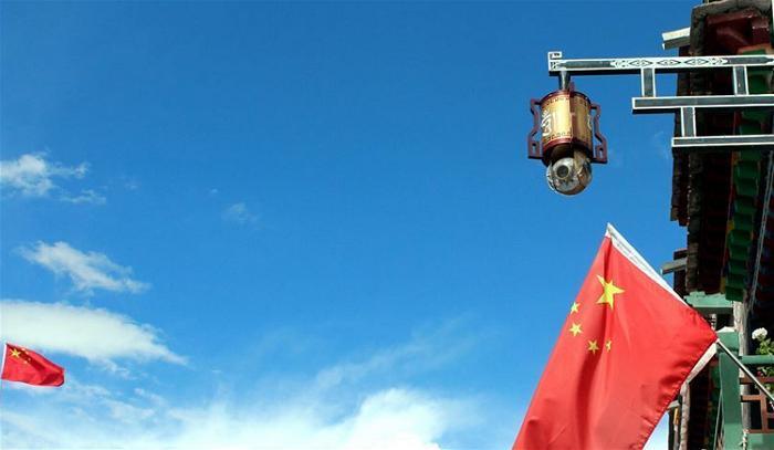 Tibet Lhasa camera monitor