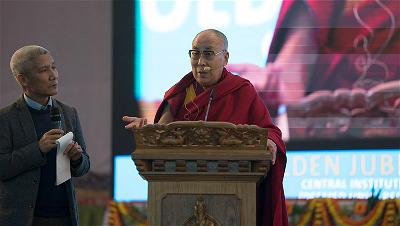 His Holiness the Dalai Lama delivers his New Year's message