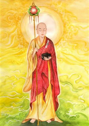 Bồ tát Mục Kiền Liên, đại đệ tử của Đức Phật