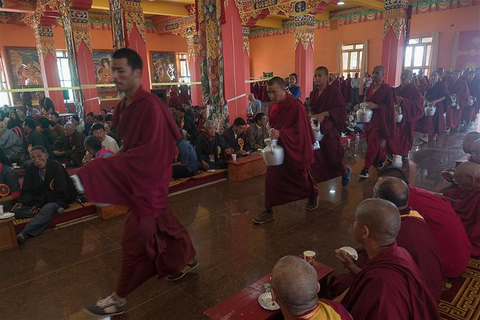 Dalai Lama at the new Tashi Lhunpo Monastery 8