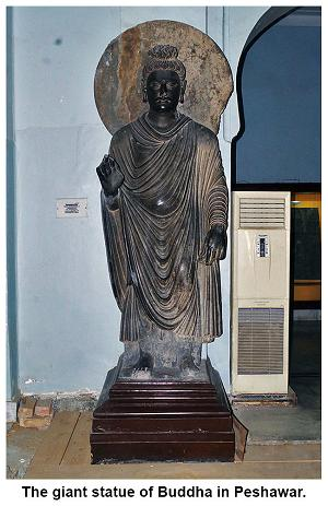 2000-year-old Buddha statue from Peshawar 2