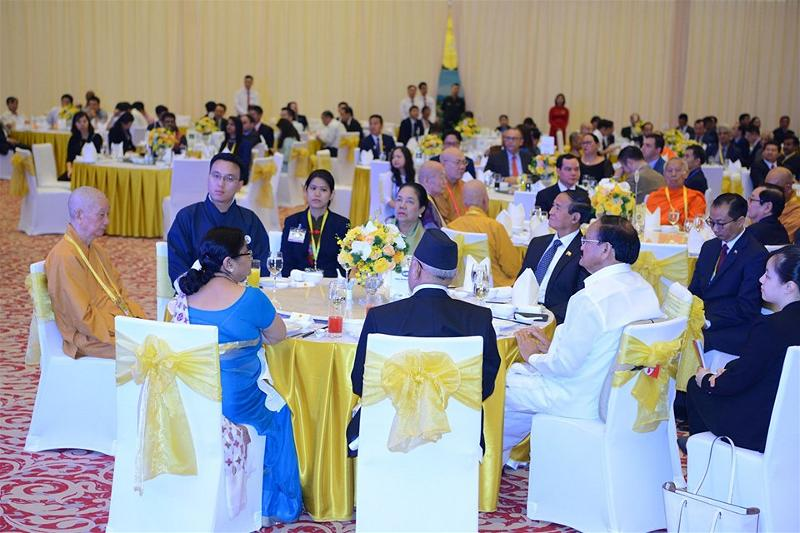 Gala Dinner in Hanoi Vesak 14