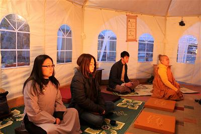 winter retreat at Dharma Mountain (9)