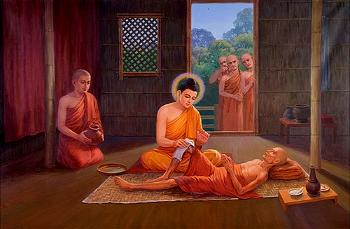 sick-monk-with-buddha-and-ananda