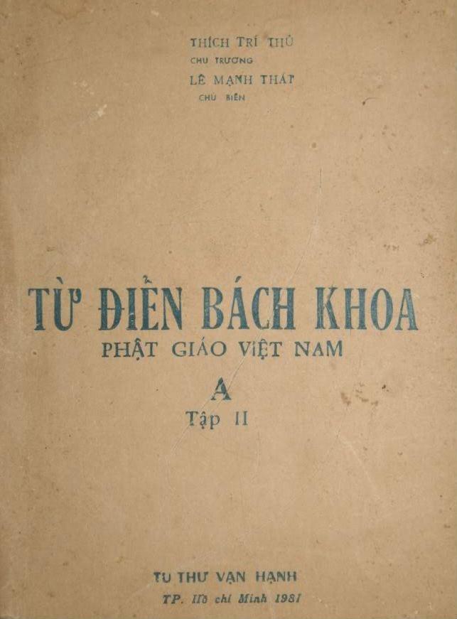 Từ Điển Bách Khoa Phật Giáo Việt Nam