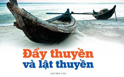 Image result for lật thuyền cũng là dân