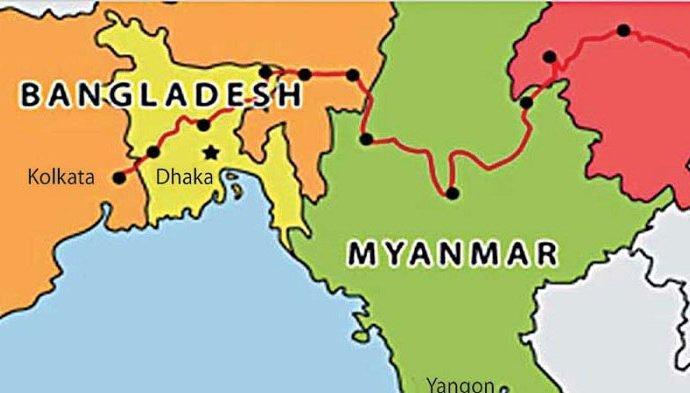 Bangladesh-Myanmar