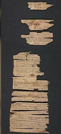 A portion of the Gandhara scroll from the Library of Congress.