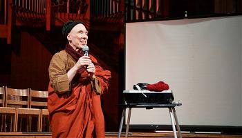 Buddhist monk Bhikkhu Bodhi was part of the organizing team for the conference