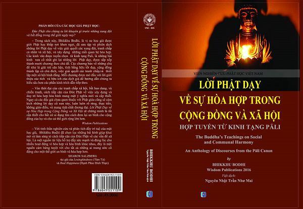 Book cover-Buddha's Teachings on Social & Communal Harmony 2