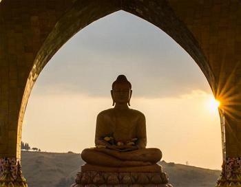 buddha-against-sunset