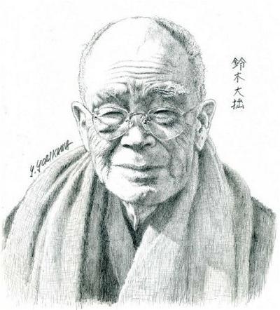 Suzuki Daisetsu (1870-1966)