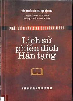 Lịch Sử Phiên Dịch Hán Tạng