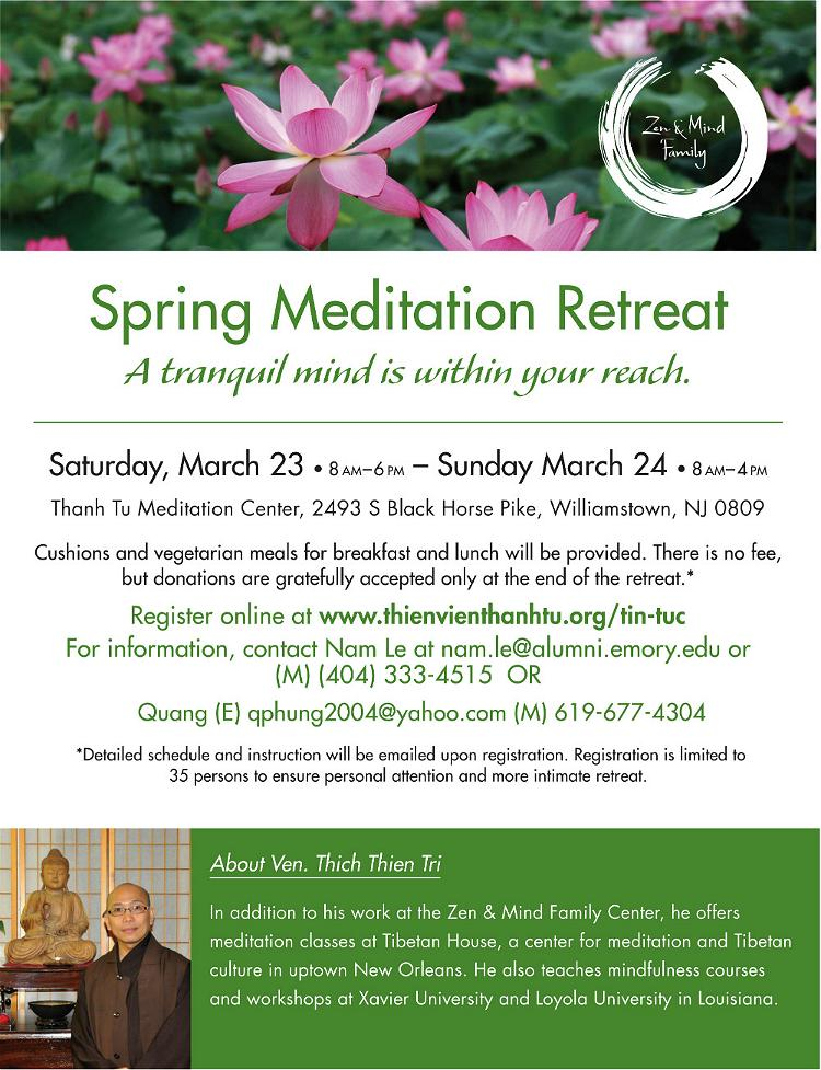 Spring Meditation Retreat