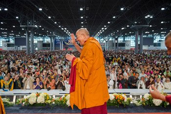 dalai lama at new york 2