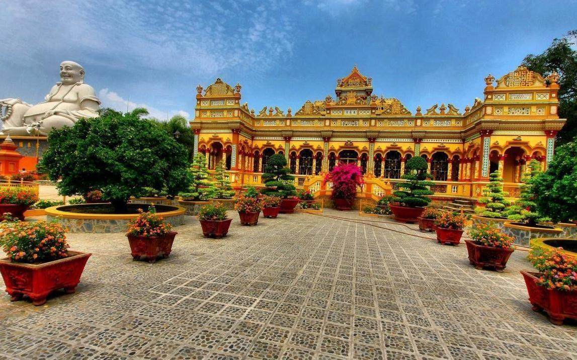 Chùa Vĩnh Tràng - Chùa Việt Nam - THƯ VIỆN HOA SEN