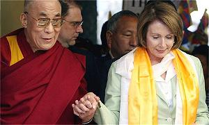 dalai lama and pelosi