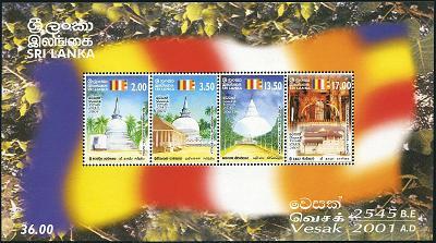 Tem-Vesak Sri Lanka 2001